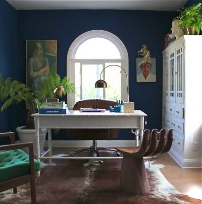 Loyal Blue By Sherwin Williams (office Or Front Guest Room)