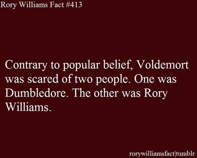 The other was Rory Williams...