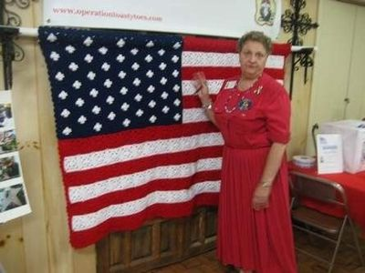 Granny Square Pattern American Flag Afghan Crochet Ideas And Tips