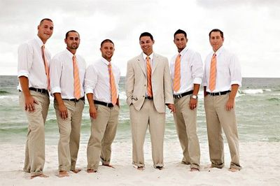 Love The Suits For The Beach Wedding Wedding Ideas