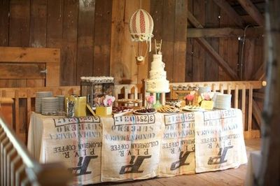 Rustic Country Cake Table For Vermont Wedding Photos By Sar