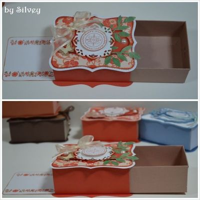 Silvey's Craftroom: Top note double slider (box with card)