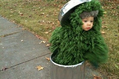 This Years Costume Baby Oscar The Grouch Baby Time