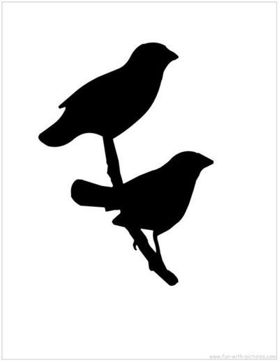 Bird Silhouette printable / birds - Juxtapost