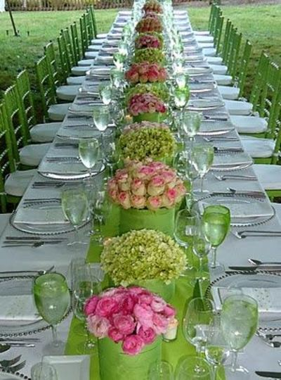 Pink And Lime Green Wedding Ideas - Unique Wedding Ideas