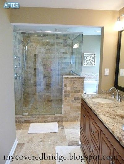 amazing bathroom redo / bath ideas - Juxtapost