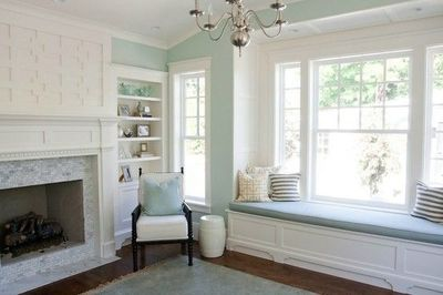 Benjamin Moore Palladium Blue Living Room For The Home