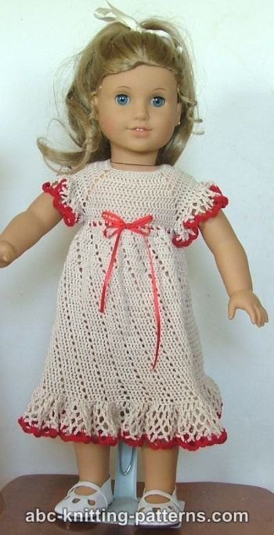 Free Crochet Patterns For 18 American Girl Doll Clothes Labzada