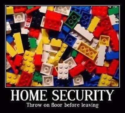 Home security - Lego has the answer