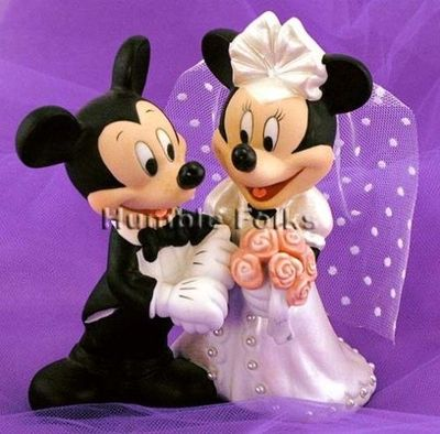 Mickey And Minnie Mouse Disney Wedding Cake Topper Theme Parks I Love