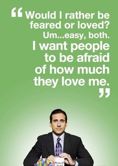 Classic Steve Carell Quote From The Office Funny Things Juxtapost