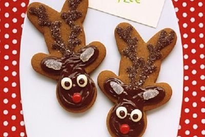 Love The Upside Down Gingerbread Man Made Into Reindeer Christmas