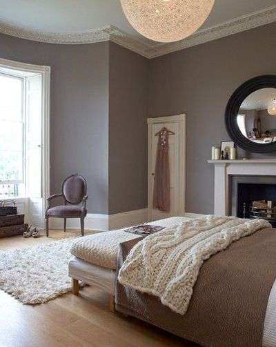 Paint color fallow ball charleston grey walls - Couleur beige taupe ...