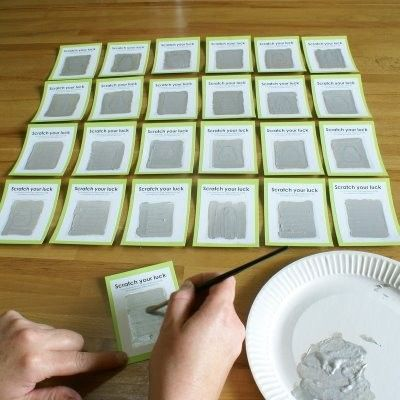 Make Your Own Scratch Tickets Perfect For Classroom