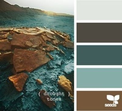 Light gray dark gray dark turquoise light turquoise and - Bathroom color schemes brown and teal ...