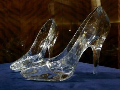 cinderella shoes for wedding bridesmaid