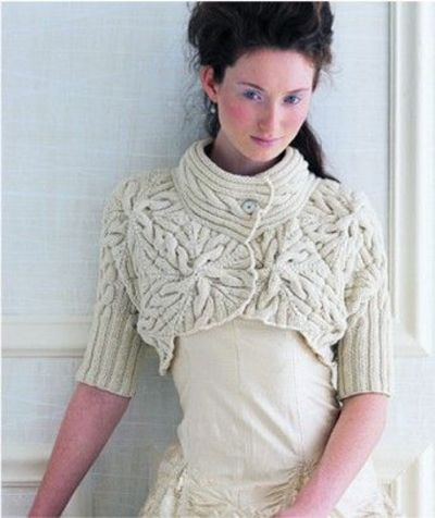Free Knitting Pattern For Shrug : Image detail for -Crochet Patterns: Shrugs And Boleros ... / crochet ide...