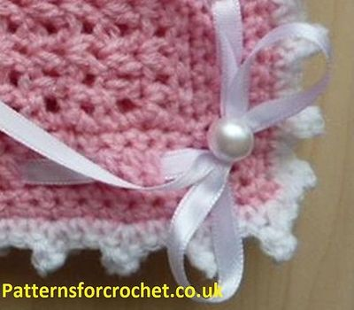 Crochet Baby Blanket Patterns Popcorn Stitch : Ravelry: Baby crochet pattern Pram Blanket pattern by ...