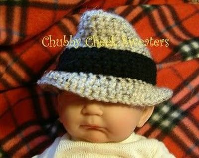 Free Bonnie Baby Fedora Hat Pattern Crochet Ideas And Tips