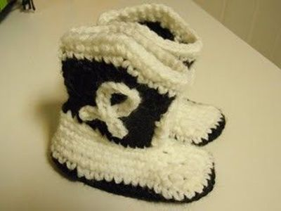 free crocheted ugg boot pattern - YouTube