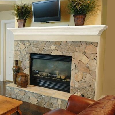 Pearl Mantels Crestwood Transitional Fireplace Mantel Shelf $159.98
