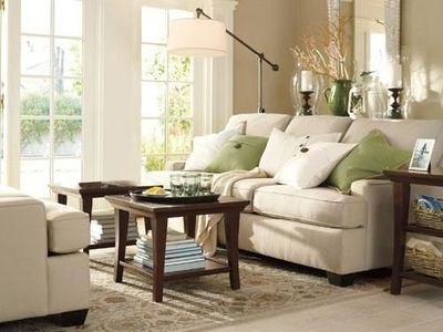 Green And Beige Living Room Benjamin Moore Bleeker