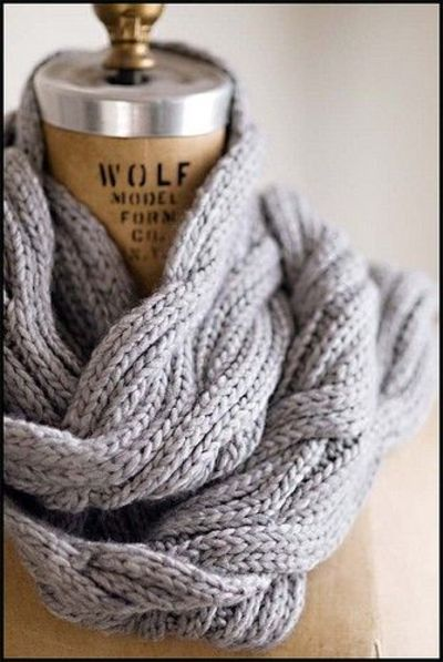 Knitting Pattern For Reversible Cable Scarf : Beautiful reversible cable scarf pattern from Brooklyn Tweed... / knits and k...