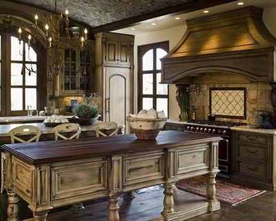 Mediterranean Kitchen Stenciled Kitchen Cabinets Design, Pictures, Remodel,  Decor And Ideas   Page