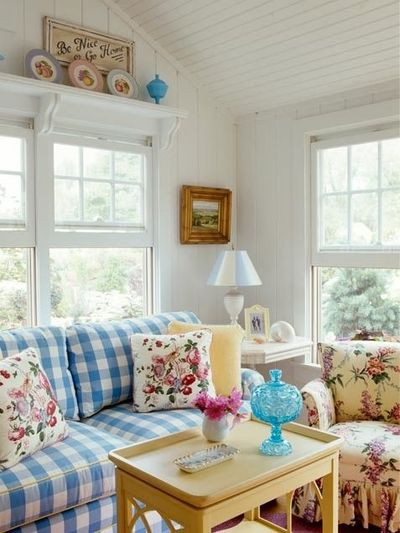 cottage style living room for the home juxtapost