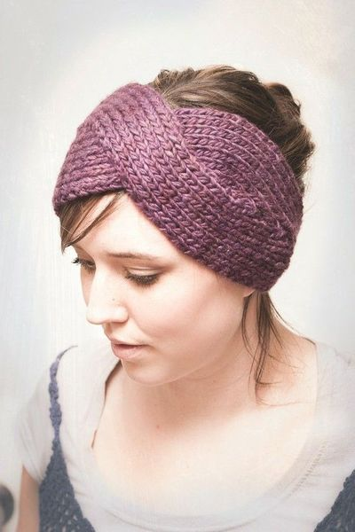 Knit headband pattern / knits and kits - Juxtapost