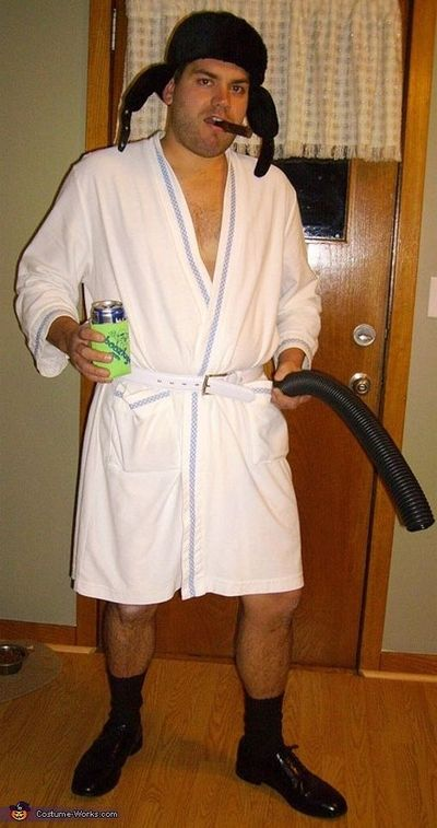 Cousin Eddie from Christmas Vacation - Homemade costumes for men. Hilarious!