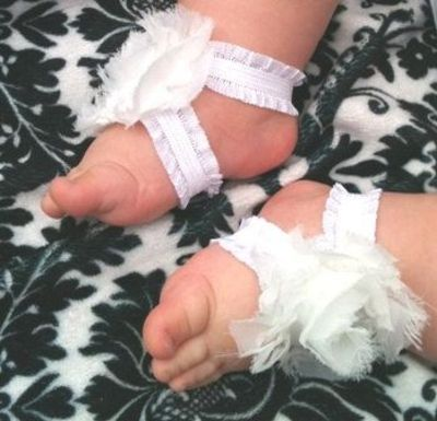 Cute little baby girl shoes EZ to make babies & things