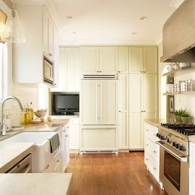 small kitchen 9x15 floor to ceiling cabinets emph. Black Bedroom Furniture Sets. Home Design Ideas