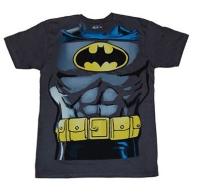 Batman Muscle Costume T-Shirt