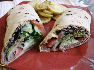 Weight Watcher BLT Wraps