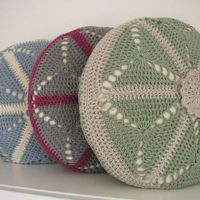 PDF Crochet Pattern - Round Cushion Cover / crochet ideas and tips - Juxtapost