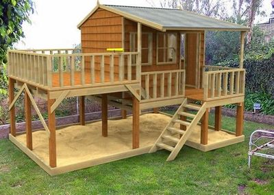Awesome Kids Playhouse For My Backyard Juxtapost