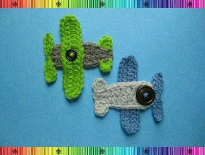 AIRPLANE APPLIQUE PATTERN « FREE Knitting PATTERNS