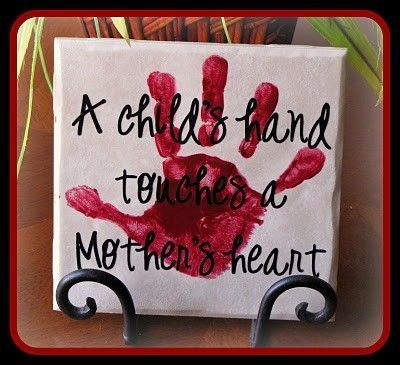 Mother's Day Handprint & Footprint craft ideas