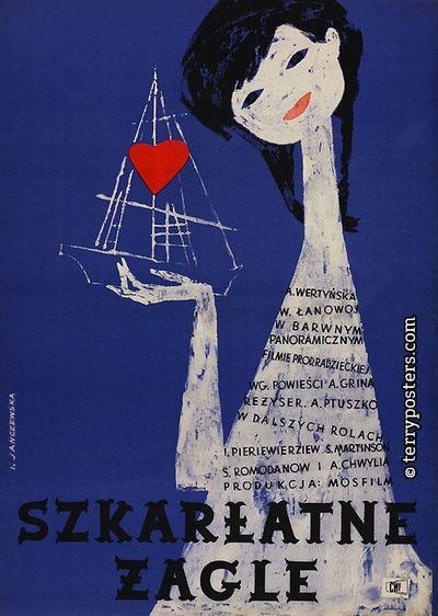 vintage polish movie poster