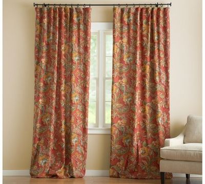 Vanessa Floral Drape | Pottery Barn / For the home - Juxtapost