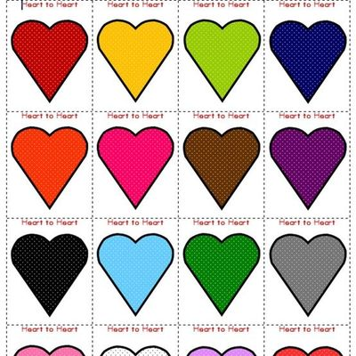 free printable heart to heart valentine color matching game valentine ideas juxtapost. Black Bedroom Furniture Sets. Home Design Ideas
