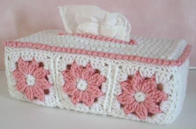 CROCHET TISSUE COVER PATTERN - FREE PATTERNS