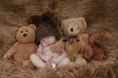 cute photo idea for newborn