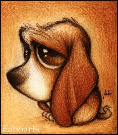 Fabo Dog cute drawings Puppies Galore Juxtapost
