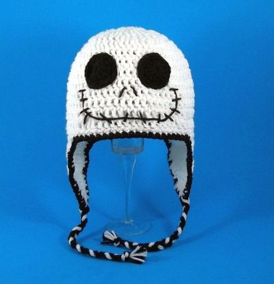 Jack Skellington Crochet Hat Knits And Kits Juxtapost