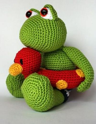 Ravelry Frog Karel Pattern By Christel Krukkert Free Patte