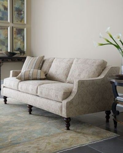 """Avondale"" Sofa by Massoud at Horchow."