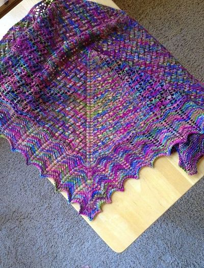Knitting Tips By Judy : Ravelry calais shawl pattern by judy marples free