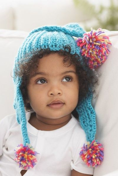 Caron International | Free Project | Come to the Point Baby Hat